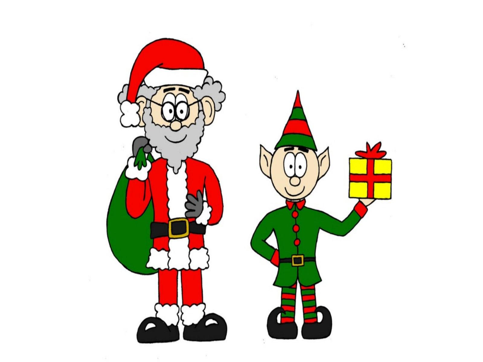 Christmas Elf wallpapers 2013 2013 Happy Xmas Elf merry Christmas 1600x1200