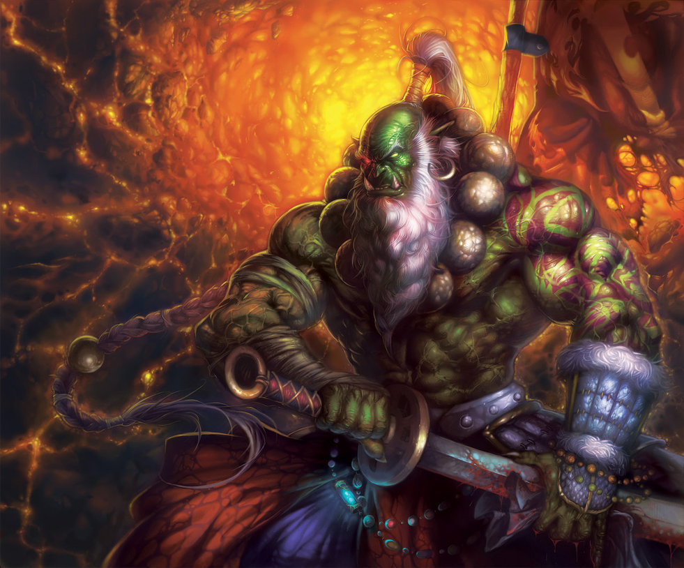 Enjoy our wallpaper of the month Orc Orcs wallpapers 981x814