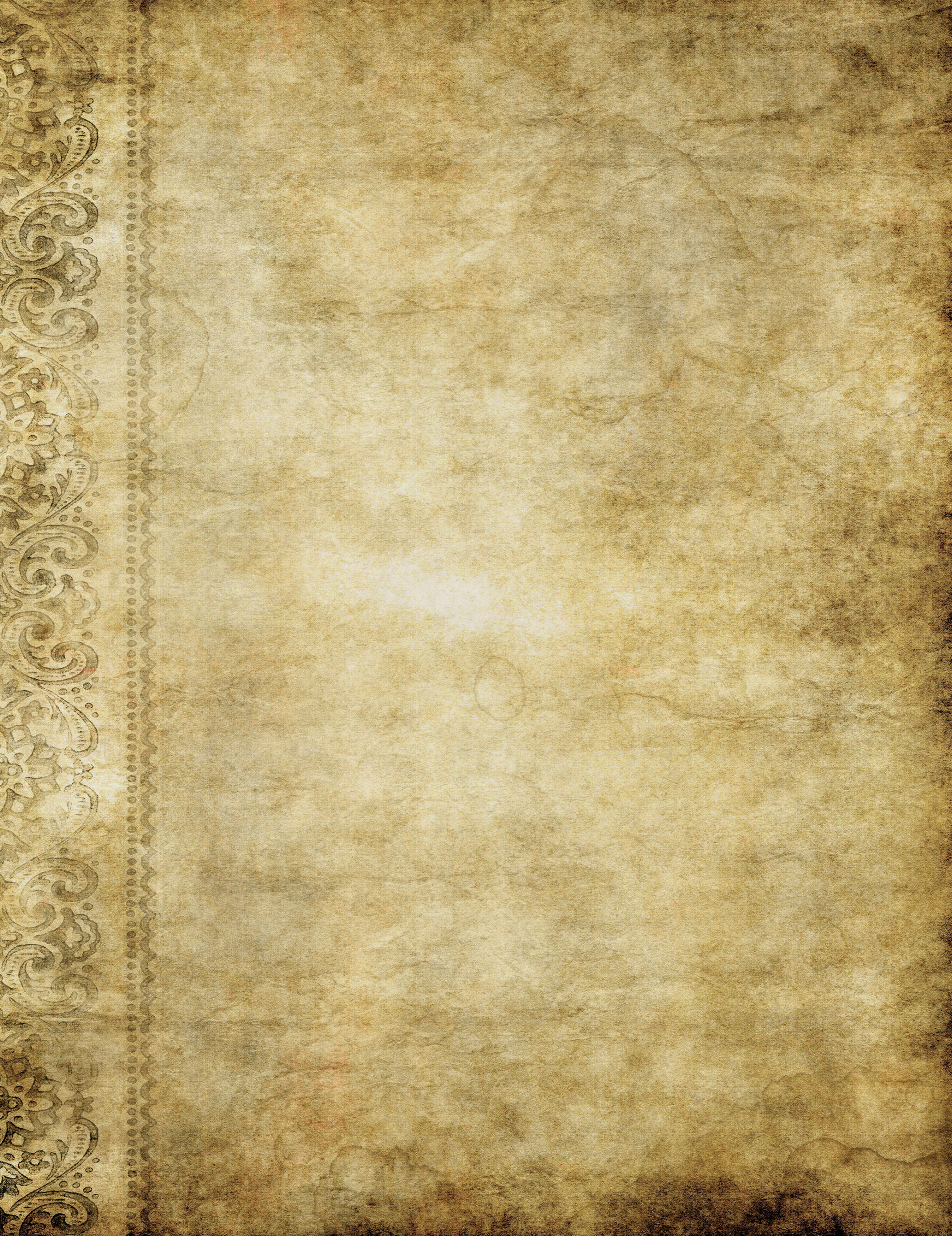 Another old grunge paper or parchment background image 2696x3500
