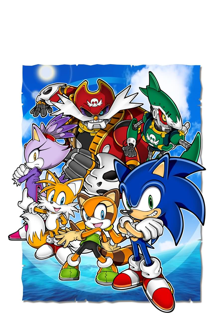 Sonic Adventure Wallpaper Wallpapersafari