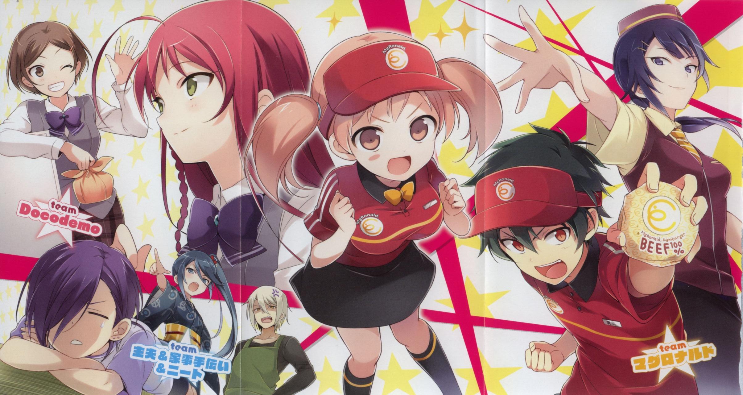 Hataraku Maou sama Wallpaper   Zerochan Anime Image Board 2409x1280