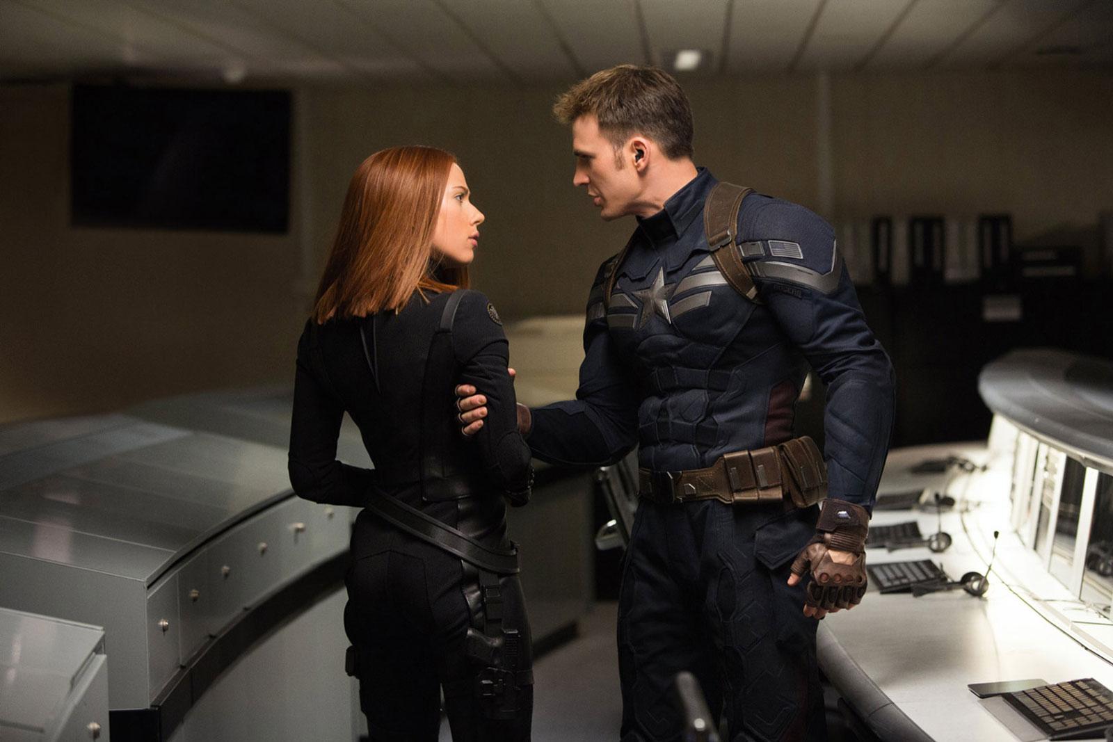 Captain America  Black Widow HD Wallpaper 1600x1067