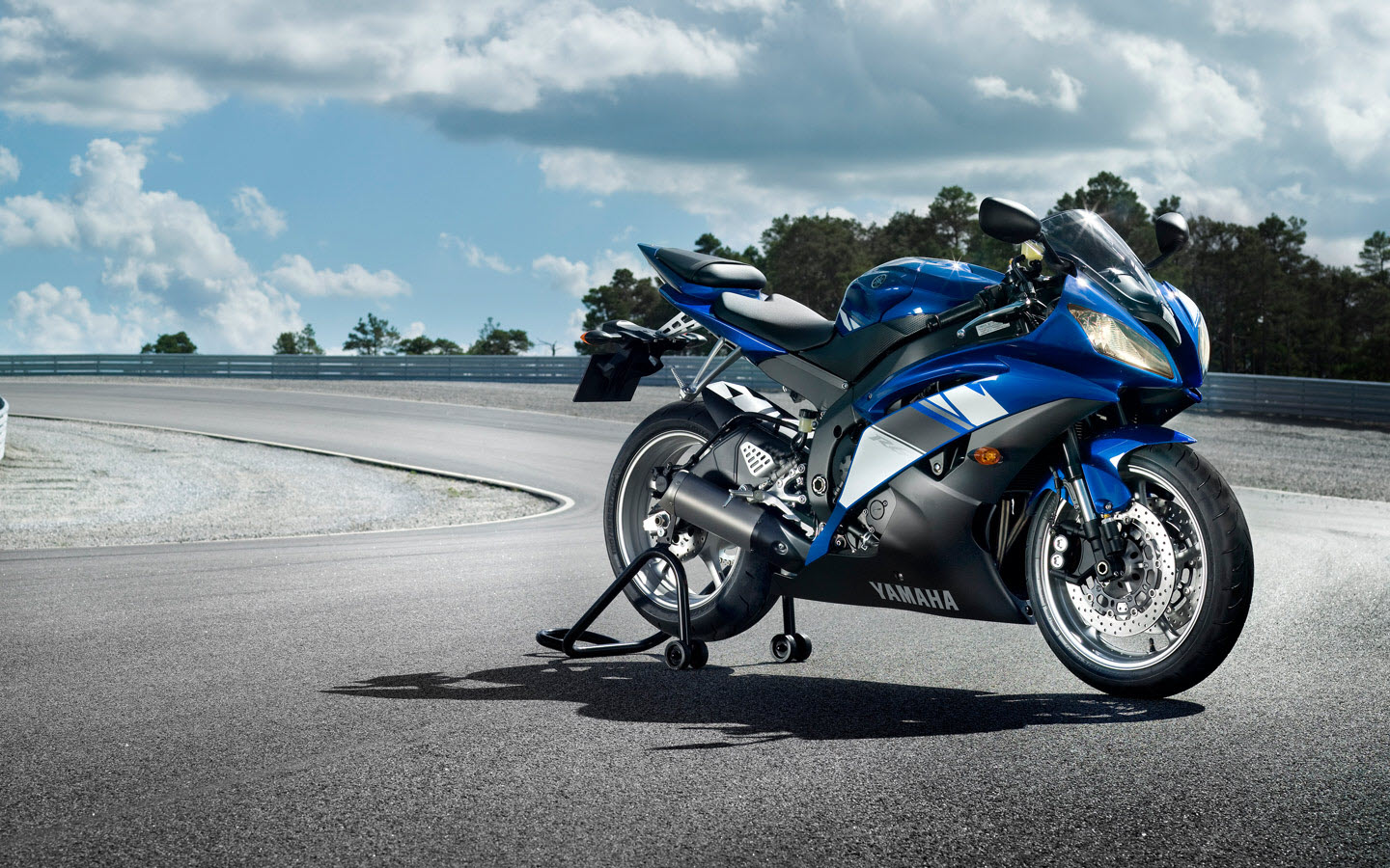 2009 Yamaha YZF R6 Wide Wallpapers HD Wallpapers 1440x900