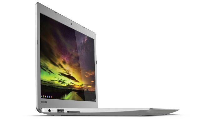 Toshiba Chromebook 2 1080p on Left Acer Chromebook 13 1080p on Right 678x381