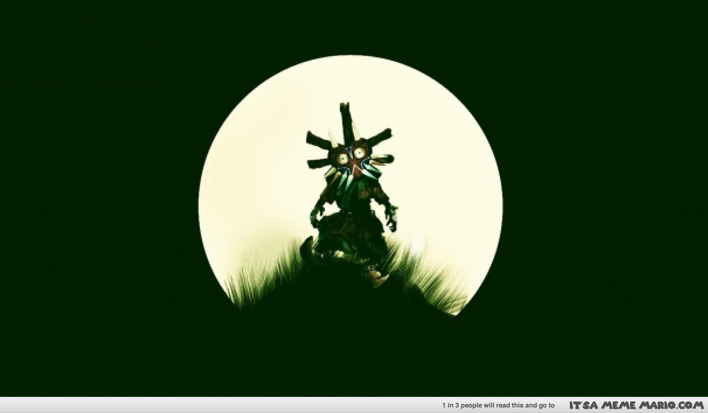 Skull Kid Wallpaper   ItsA Meme Mario 1404x820
