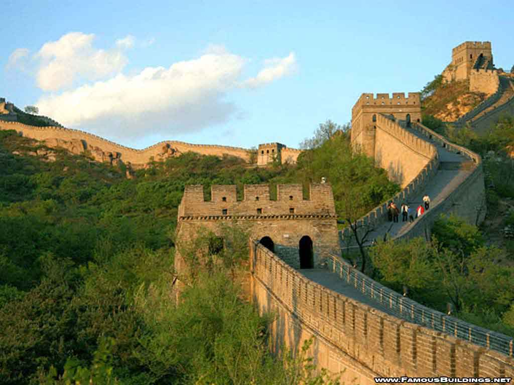 Great Wall of China Photographs World 7 Wonders Wallpapers 1024x768