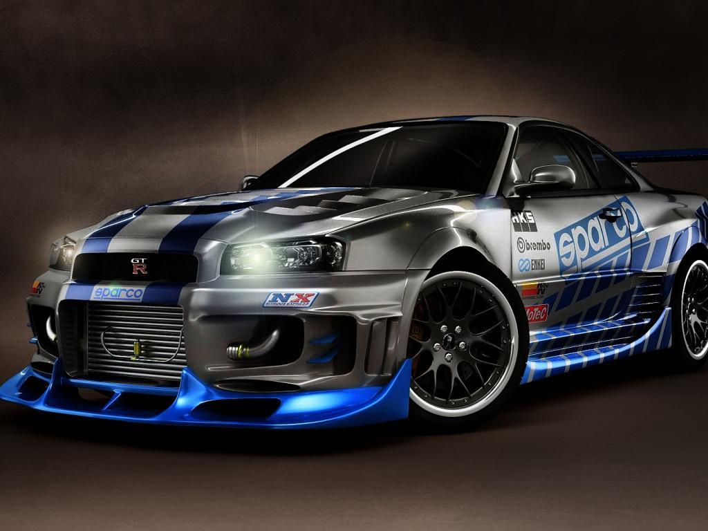 Gambar Modifikasi Mobil Nissan Skyline Modif Mobil