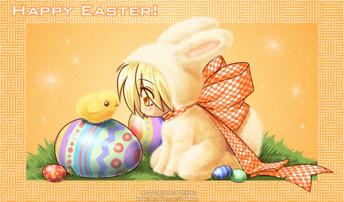Happy Holiday Happy Easter 2011 1305x768