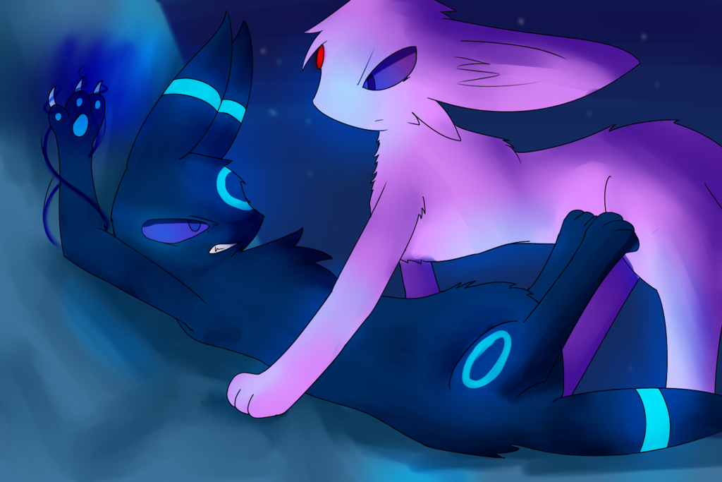 Espeon And Umbreon Wallpaper Umbreon vs espeon by vickh 1024x683