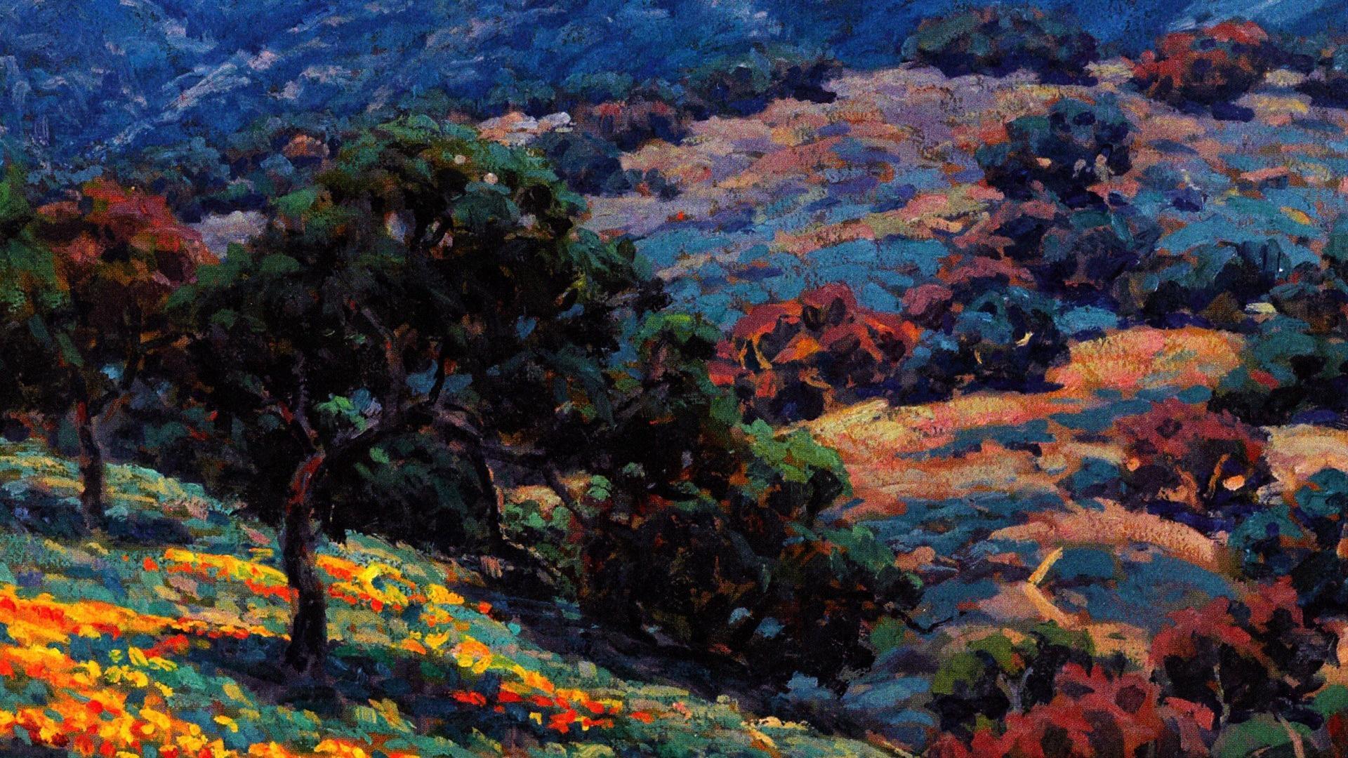 Impressionist painting wallpaper 87961 1920x1080