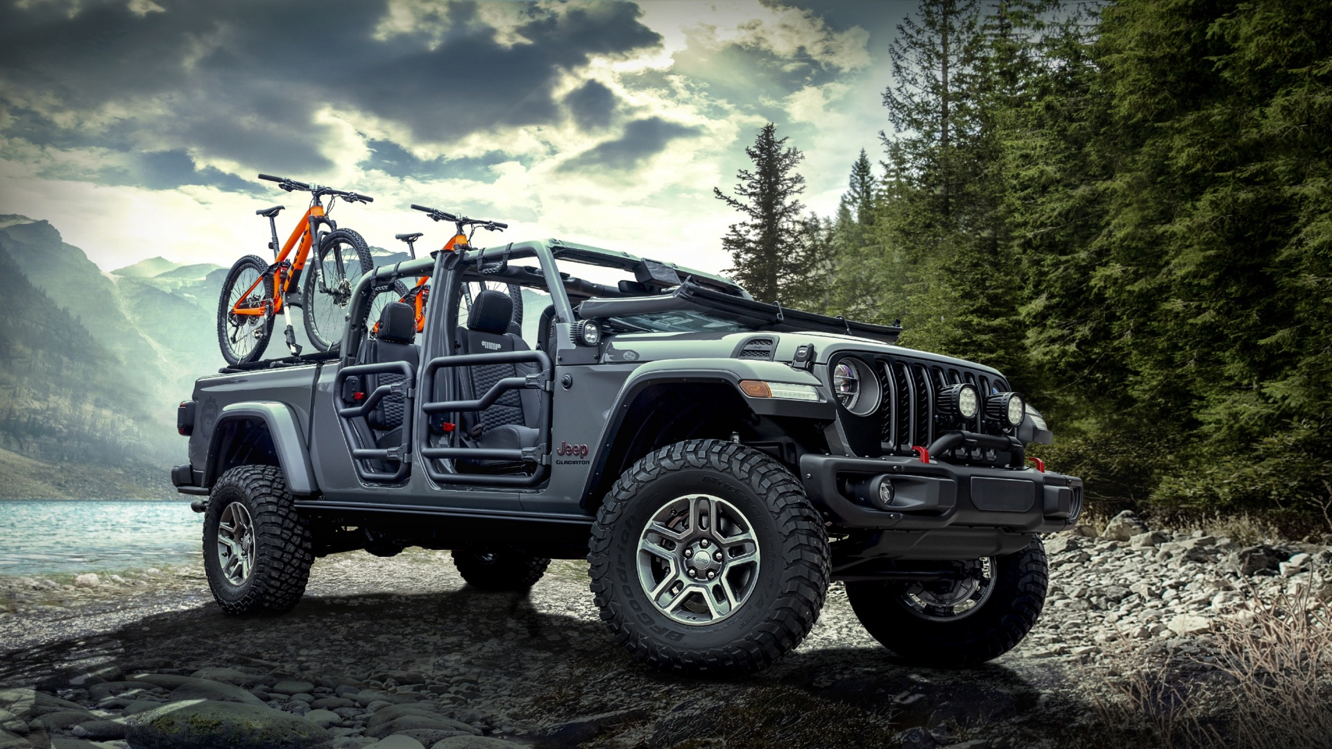 Photo 2020 Jeep Gladiator Rubicon automobile 1920x1080 1920x1080