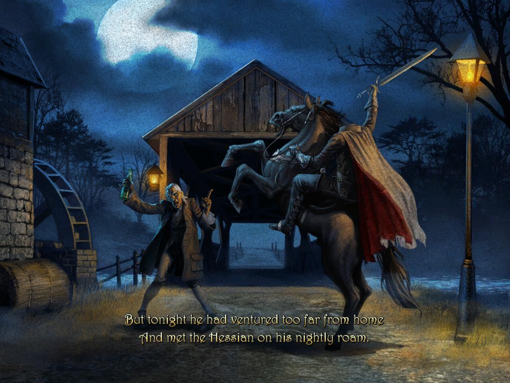 Legend Of Sleepy Hollow Wallpaper Wallpapersafari