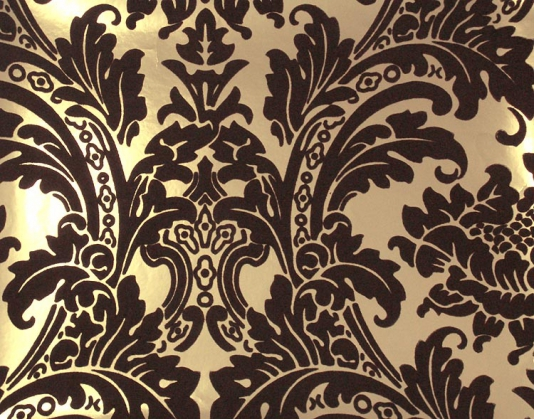 Gold Wallpaper Black And Gold Damask Wallpaper 534x419