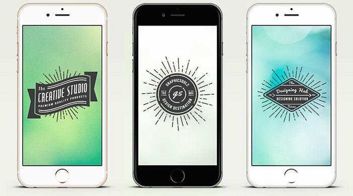 Iphone App Design Template. blue design template ui psd free ...