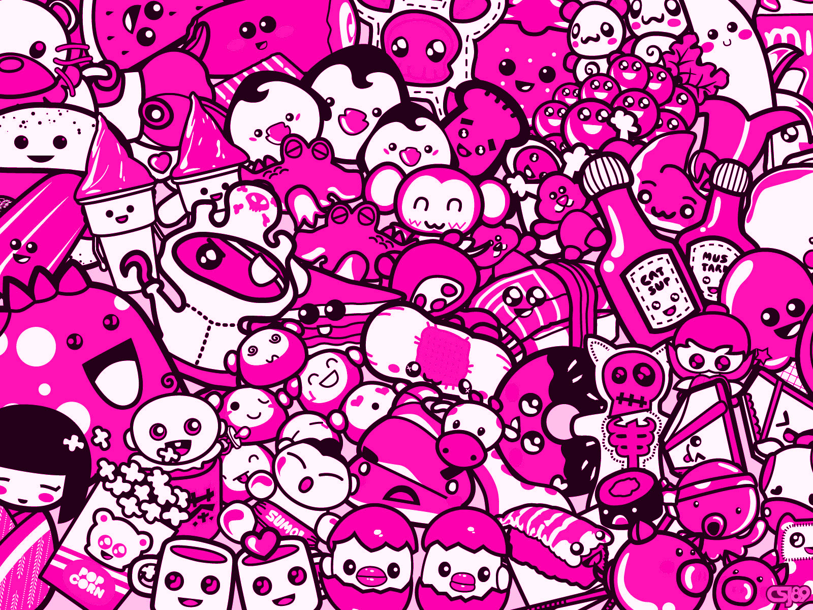 Pink Wallpapers Cute FREE WALLPAPERS 1600x1200