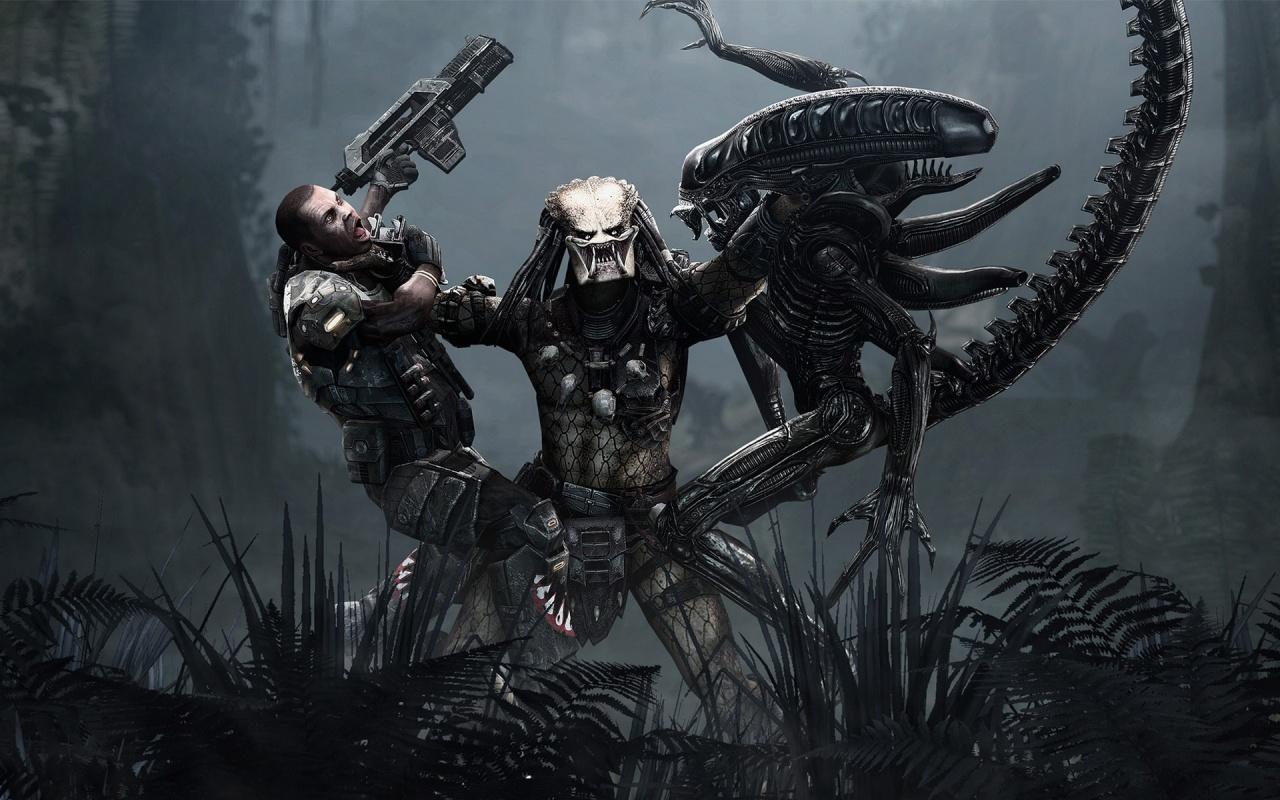 Aliens Vs Predator Game Wallpapers HD Wallpapers 1280x800