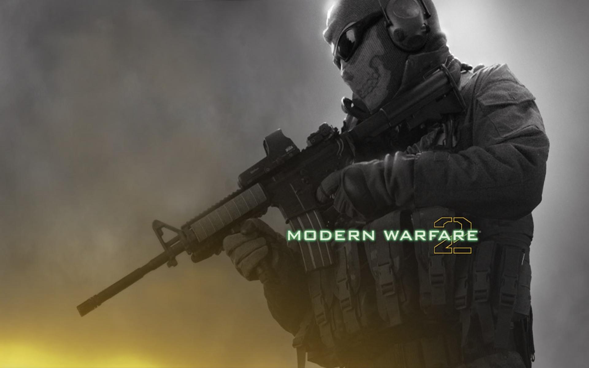 Call Of Duty Modern Warfare 2 Wallpaper Ghost 5342 Hd Wallpapers in 1920x1200