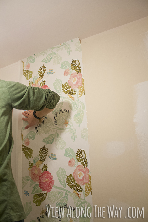 How to install wallpaper 580x870
