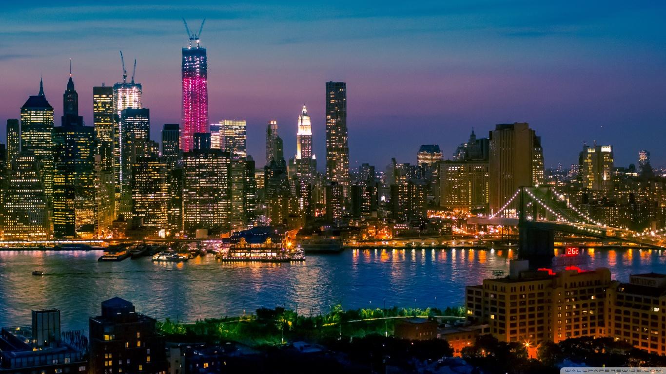 21+ New York Wallpaper Hd 1366X768 Images
