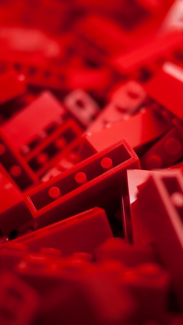 Red Legos Red Red Bricks Color Red Wallpaper Things Red Iphone 640x1136