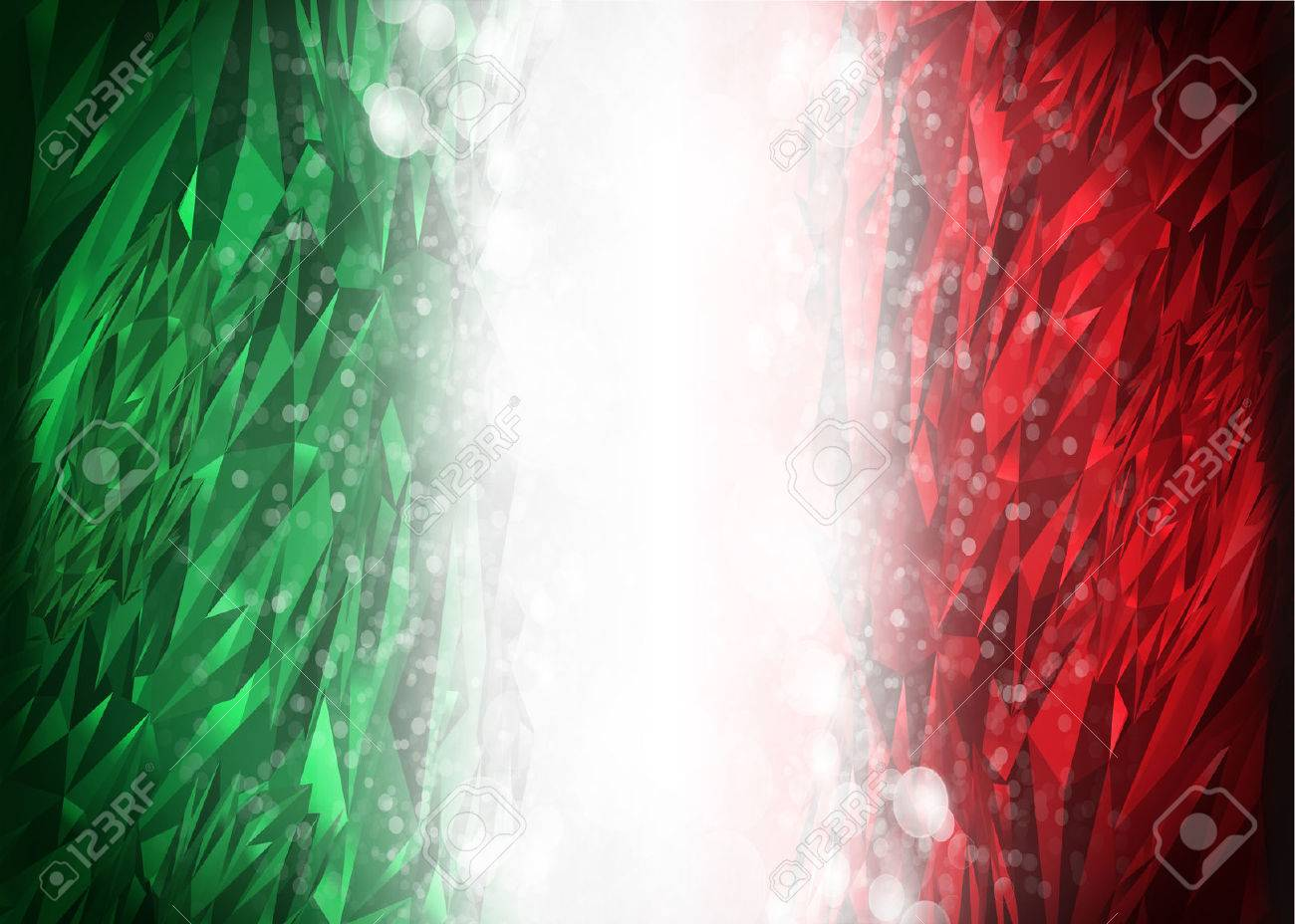 Red And Green Background Ready For Your Text Modern Mexico 1300x928