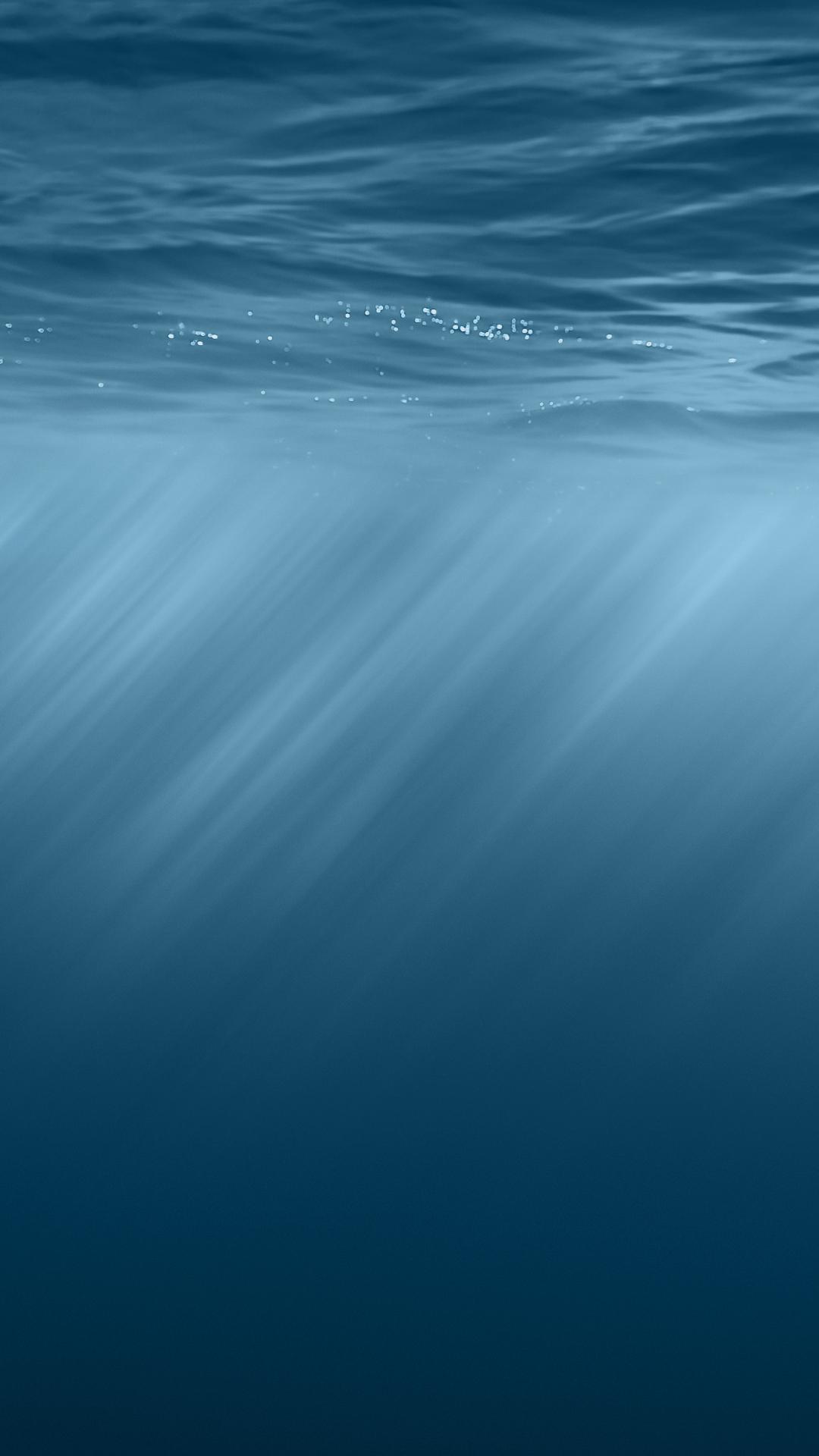 Apple iOS 8 Underwater iPhone 6 Plus HD Wallpaper iPod Wallpaper HD 1080x1920