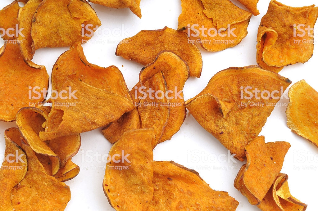 Sweet Potato Crisp Background Stock Photo More Pictures of 1024x680