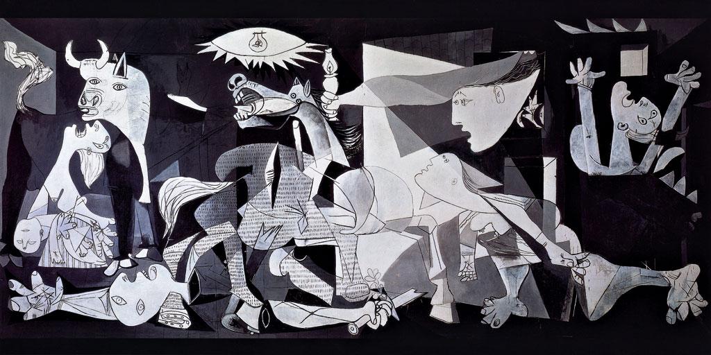 Guernica Wallpaper Guernica pablo picasso art 1024x512