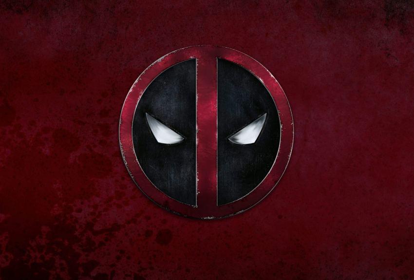 Deadpool Logo wallpaper HD desktop background 2016 in category 850x575