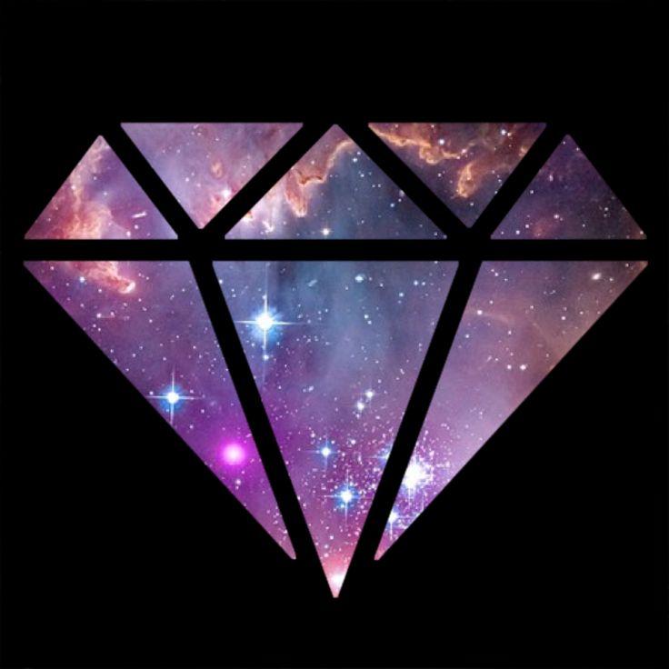 Diamond Supply Co Galaxies Diamonds Google Search Art Wallpaper 736x736
