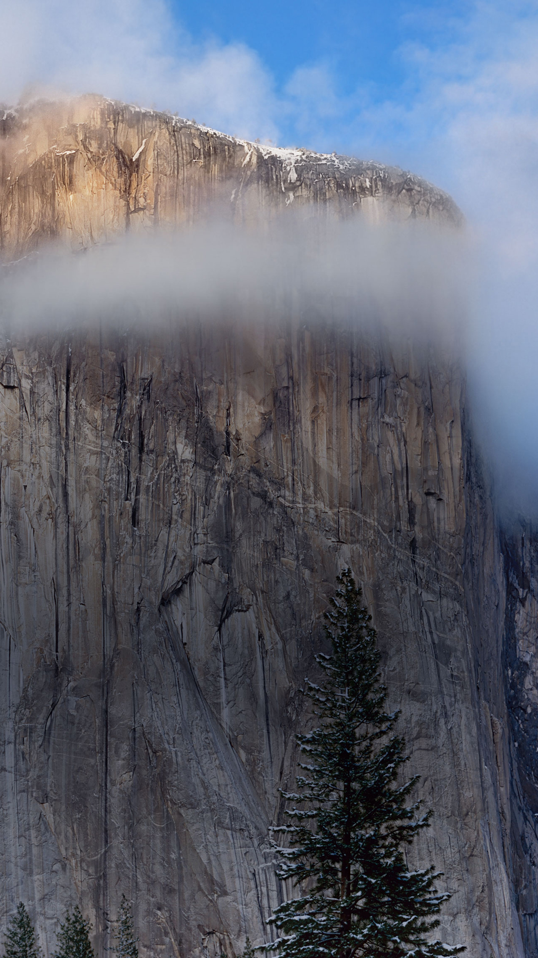 Iphone wallpaper os x yosemite - Mac Osx Yosemite Cliff Iphone 6 Plus Hd Wallpaper Ipod Wallpaper Hd