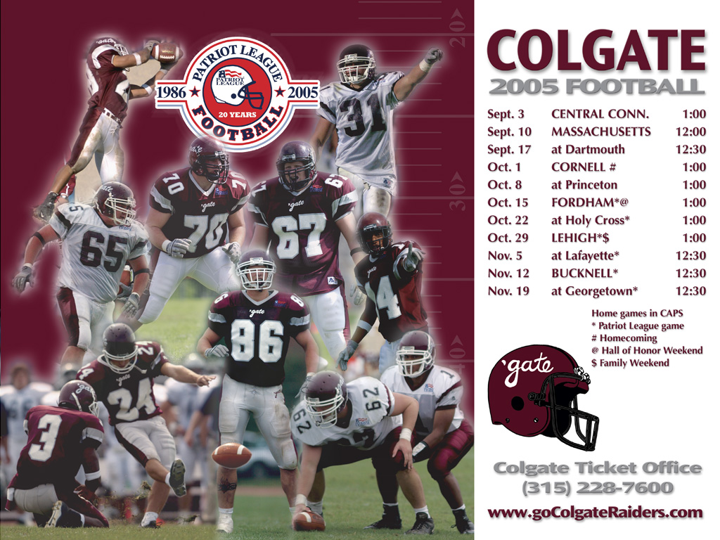 Colgate University Football Wallpaper 1024x768