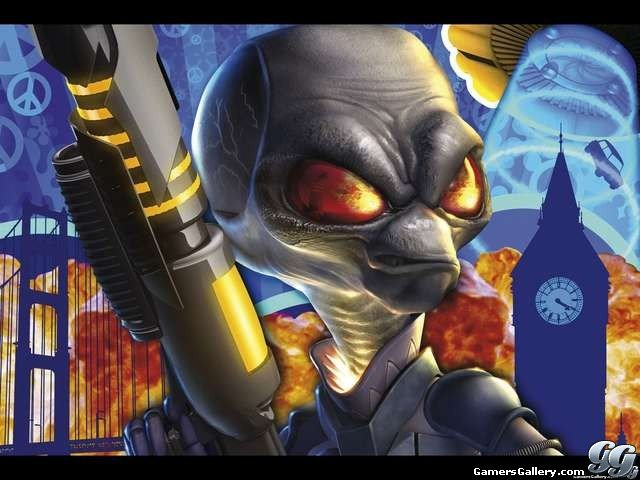 Gamers Gallery   Destroy All Humans 2 Exclusive Wallpaper 640x480