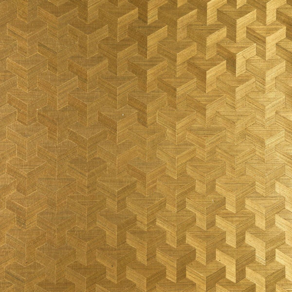 Free download Gold Art Deco Wallpaper Non woven sisal