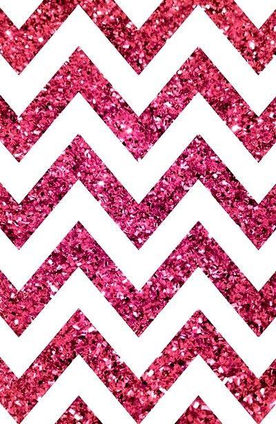 Pink glitter chevron background Screensavers Pinterest 400x615