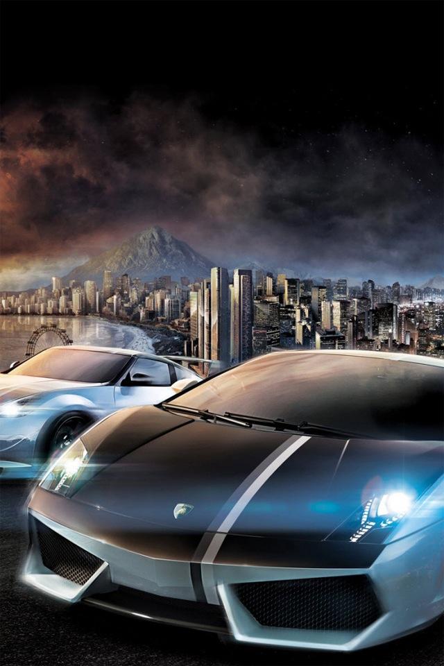 cool car iPhone 5s Wallpaper Download iPhone Wallpapers iPad 640x960