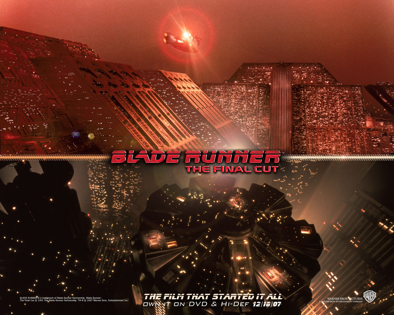Official Blade Runner Wallpaper   Blade Runner Wallpaper 8207467 1280x1024