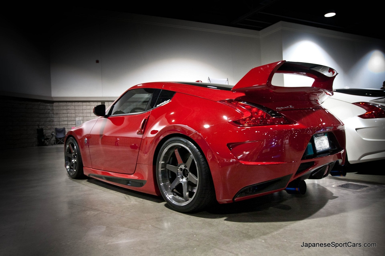 Nissan 370Z with Powerhouse Amuse Vestito Body Kit   Picture Number 1280x853