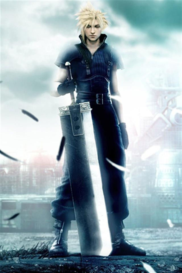 Final Fantasy VII and Cloud Game iPhone Wallpapers iPhone 5s4s 640x960