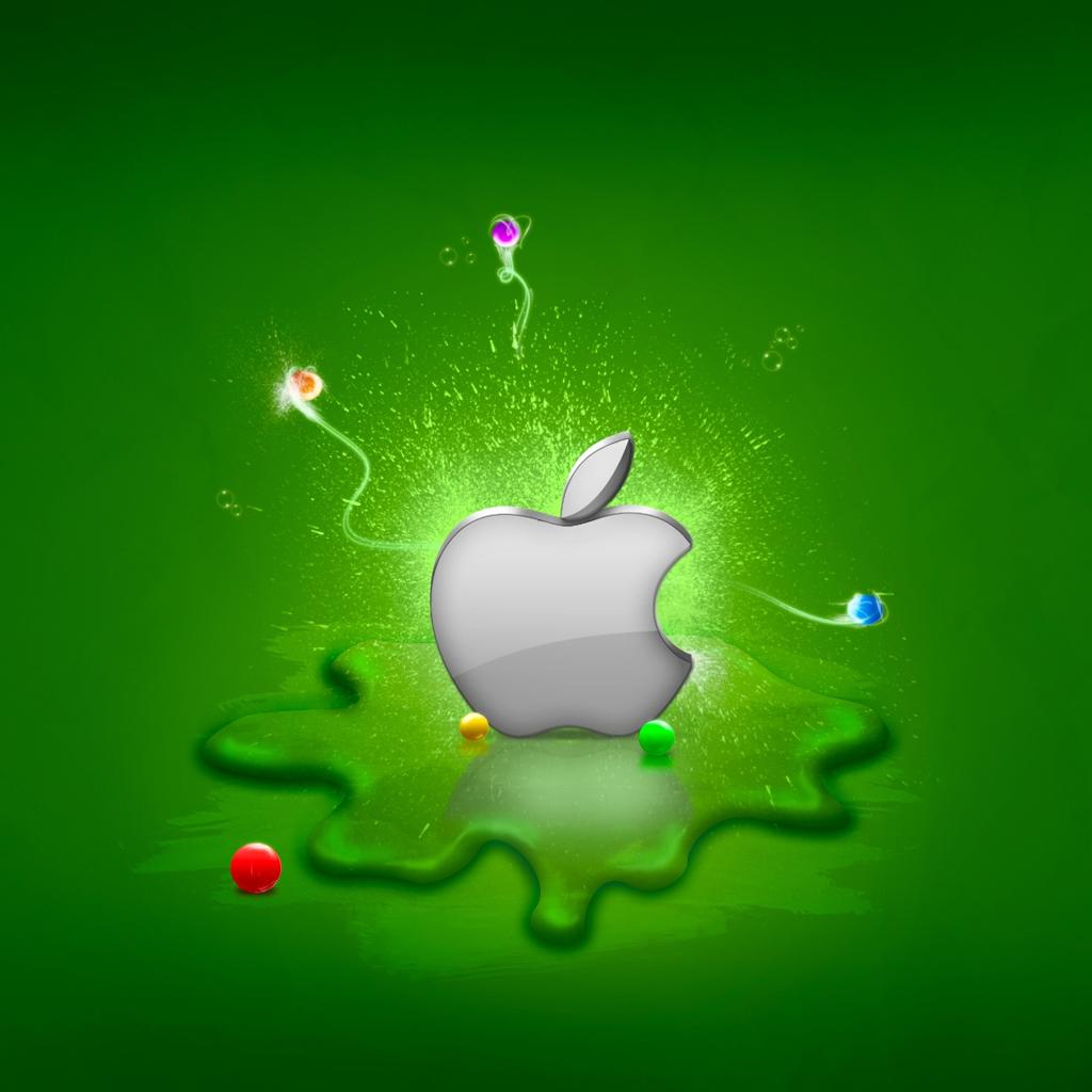 Apple Logo iPad Wallpaper Download iPhone Wallpapers iPad 1024x1024