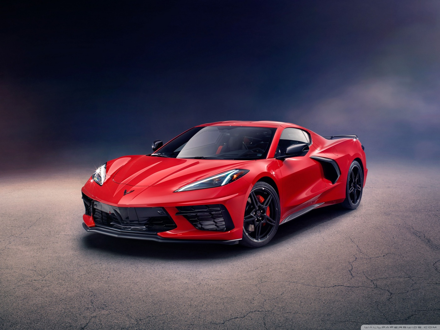 download 2020 Chevrolet Corvette Stingray Z51 Supercar 4K HD 1400x1050