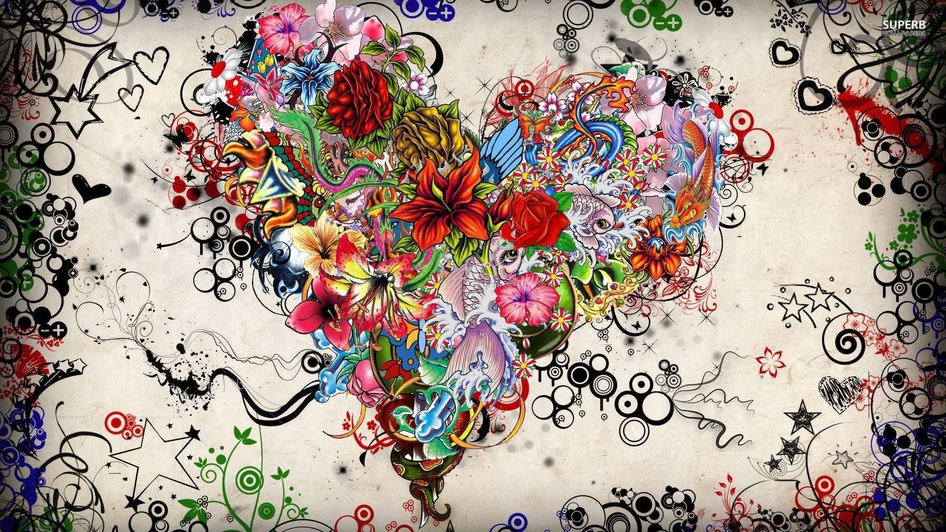 74 Tattoo Art Wallpaper On Wallpapersafari