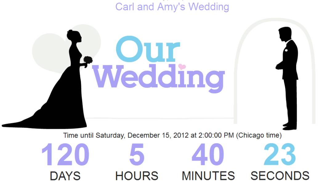Wedding Countdown Picture Unique Wedding Gallery 1036x587
