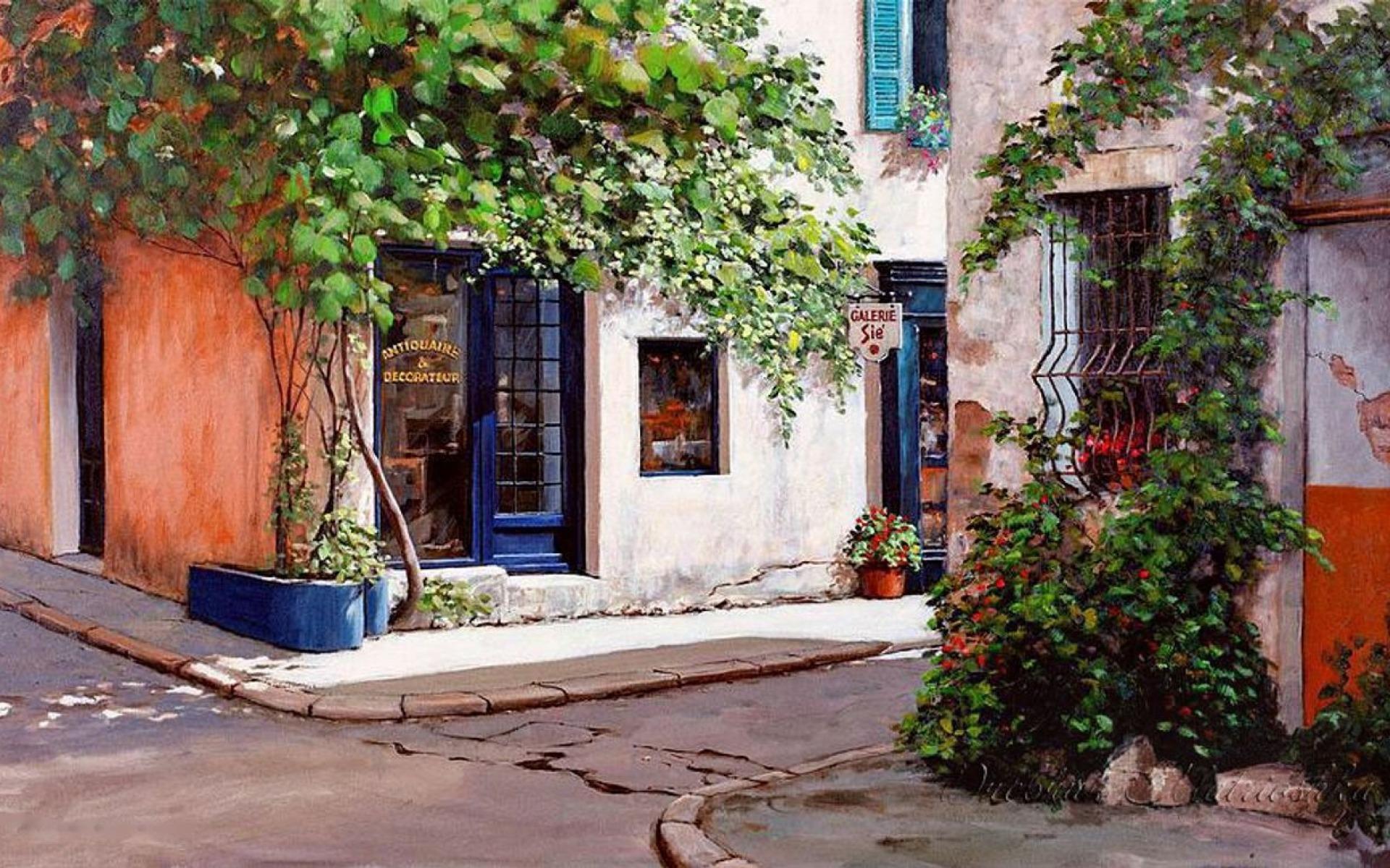 Antiques Shops Provence France wallpapers Antiques Shops 1920x1200