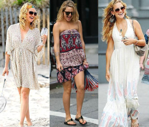 Related searches for Kate Hudson Boho Street Style 600x513