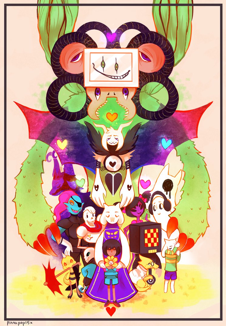 Undertale by Pinnapop 744x1074