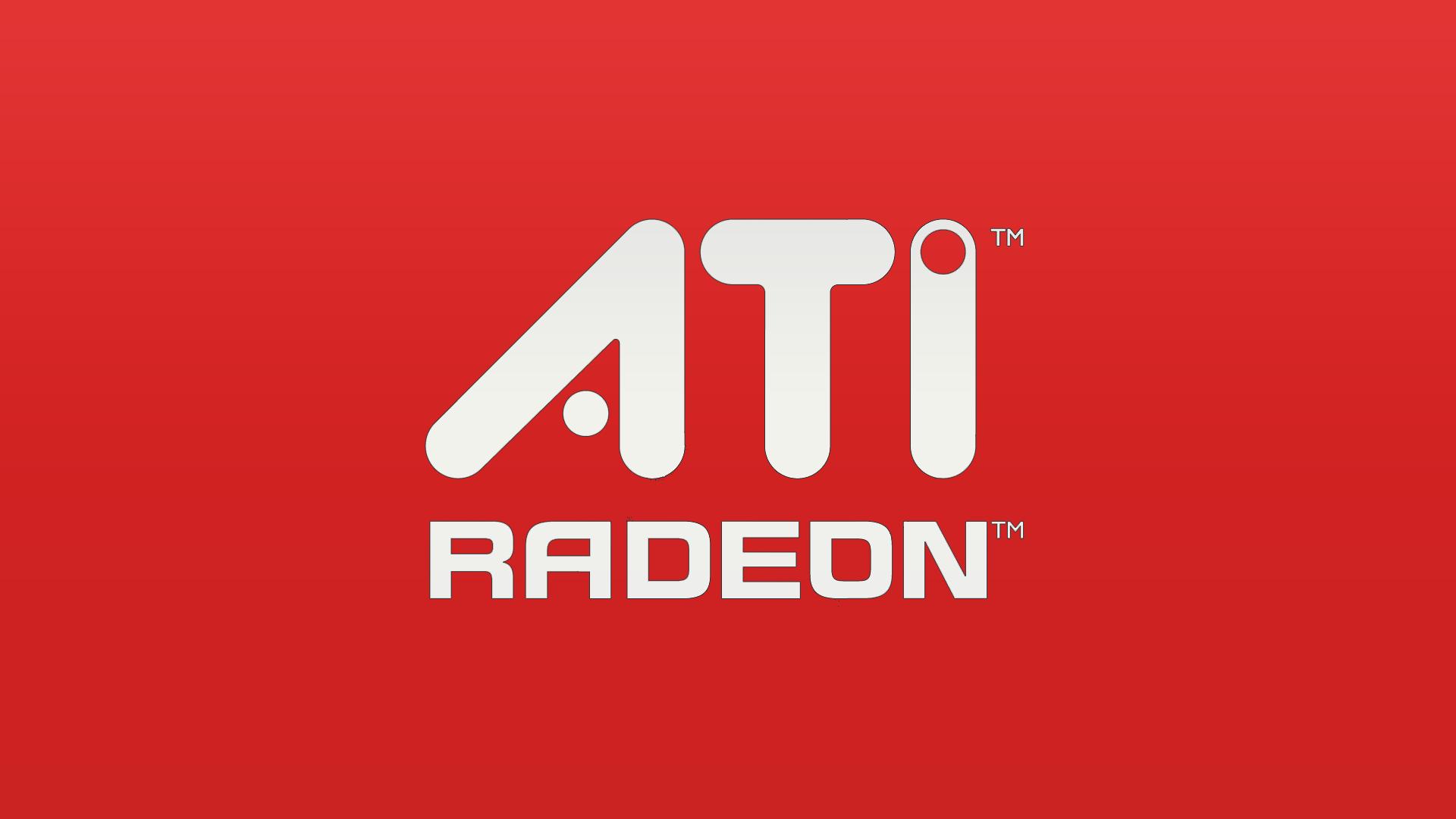 ATI Radeon Wallpaper 1920x1080 ATI Radeon Logos 1920x1080
