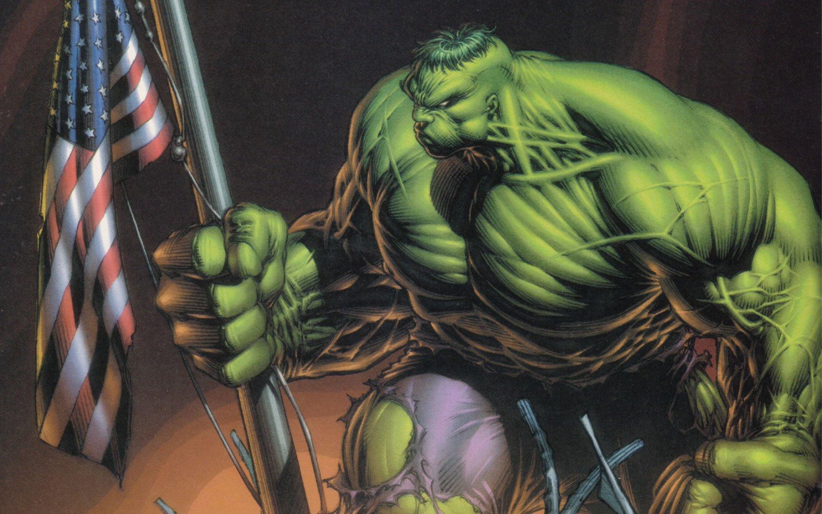 Hulk comic character Marvel Comics wallpaper 1680x1050 1680x1050