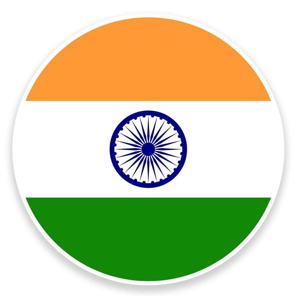 2 x India Flag Map Vinyl Sticker 9047 India flag 1024x1024