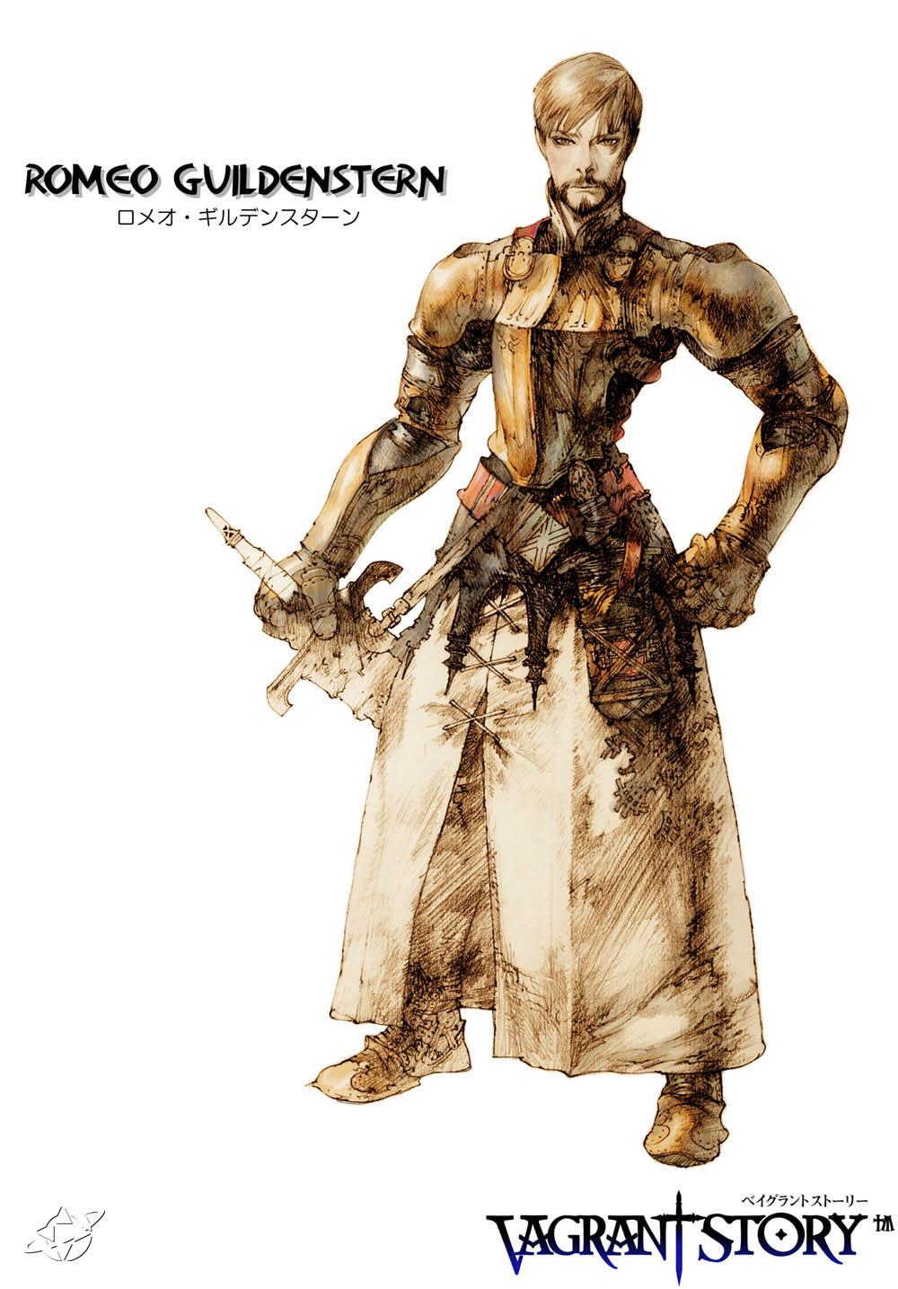 Vagrant Story Character Art Romeo   Minitokyo 1000x1435